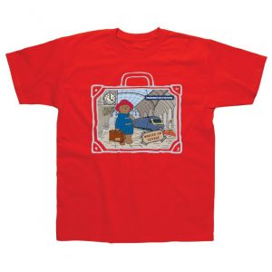 Paddington Bear red tshirt