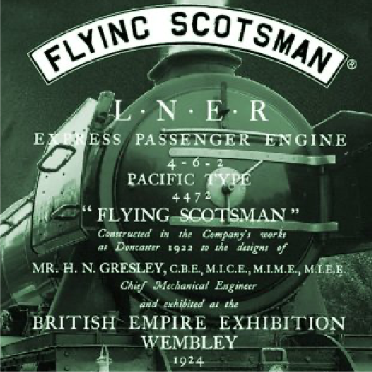 Flying Scotsman Range